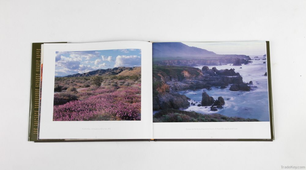 Strong Book printing service on hardcover book and soft cover book