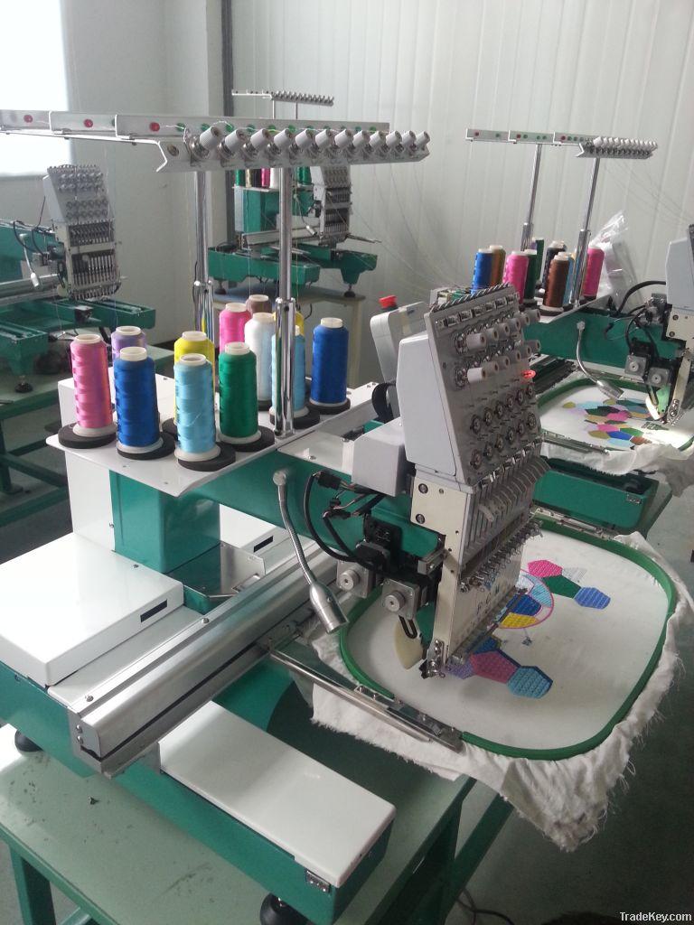 Single head embroidery machine?computer embroidery machine