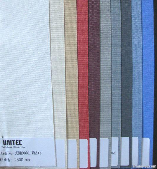 Roller blinds fabrics