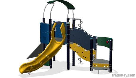 Tower playground structure