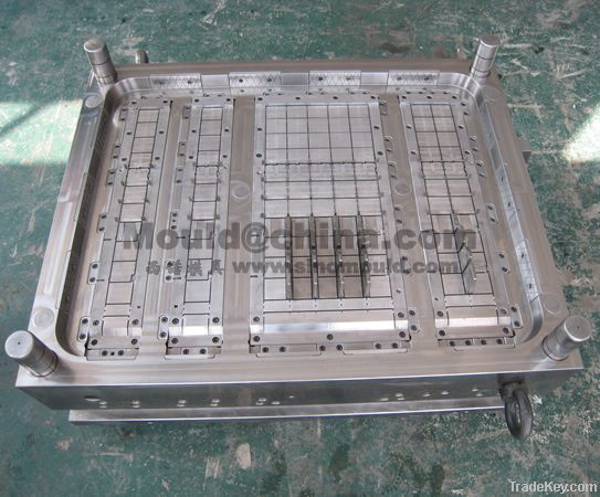 4 ways faced pallet mould with 9 feet
