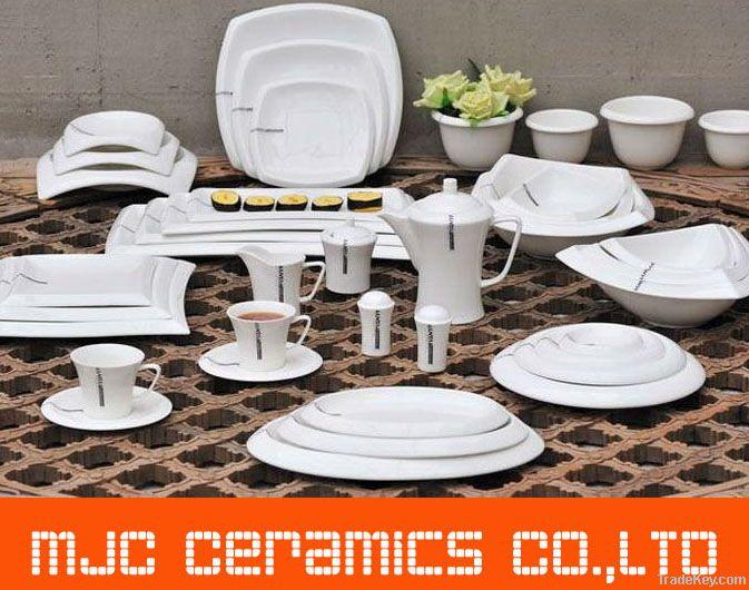 7 inch Ceramic Porcelain Tableware coffee & tea cups bowls mugs plates
