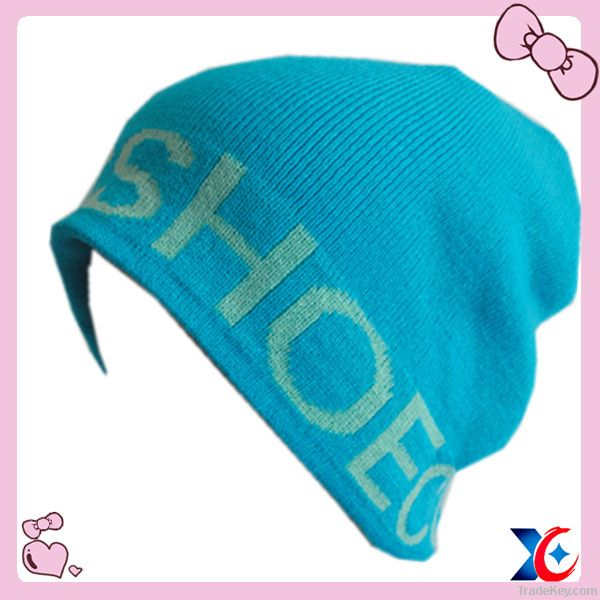 Fashion teenagers knitted beanie hats
