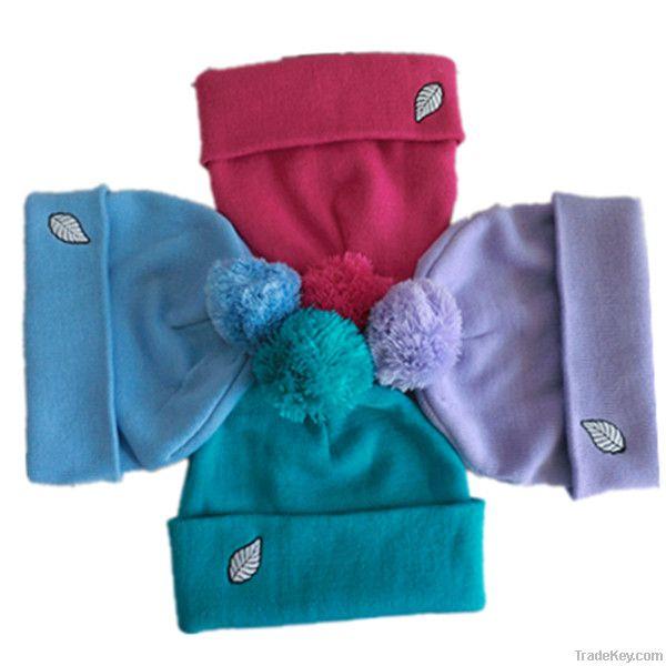 Winter cuff hat high fashion knitting patterns