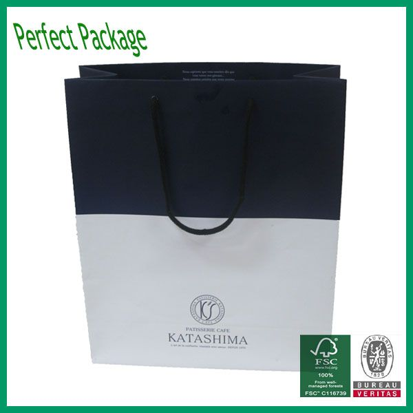 High quality Paper bags shopping packaging bag