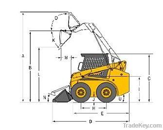 used Skid steer loader JC60