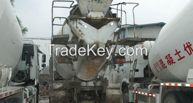 used concrete mixer ISUZU 8 m3.