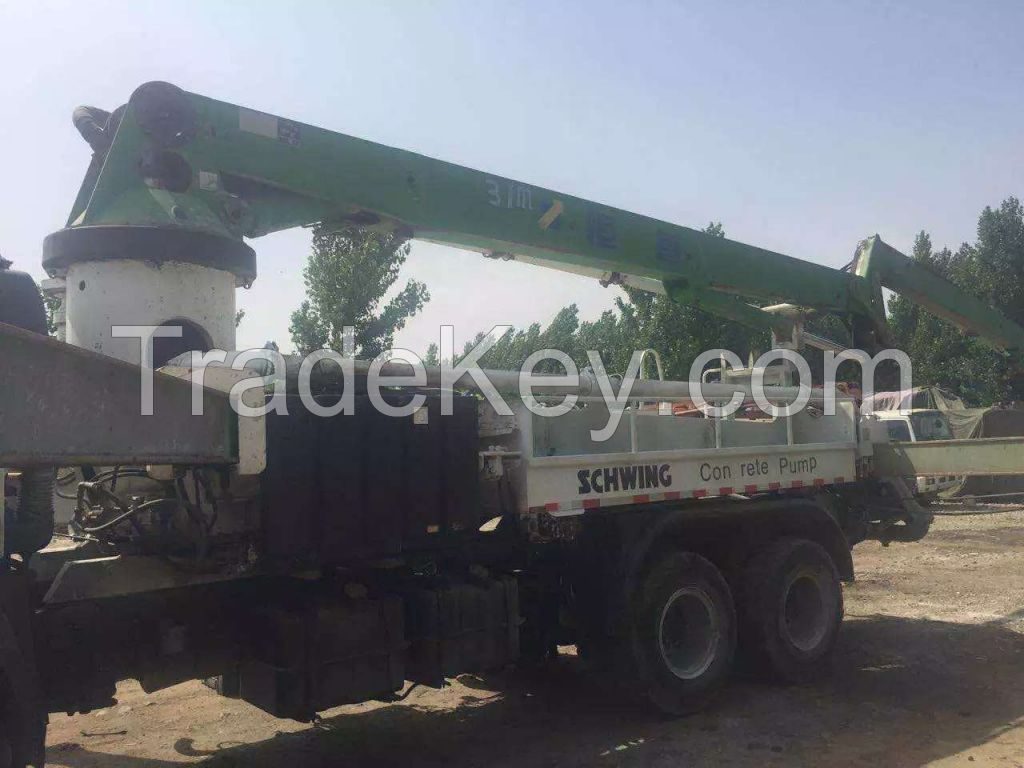 Used Concrete Pump,SCHWING 36m