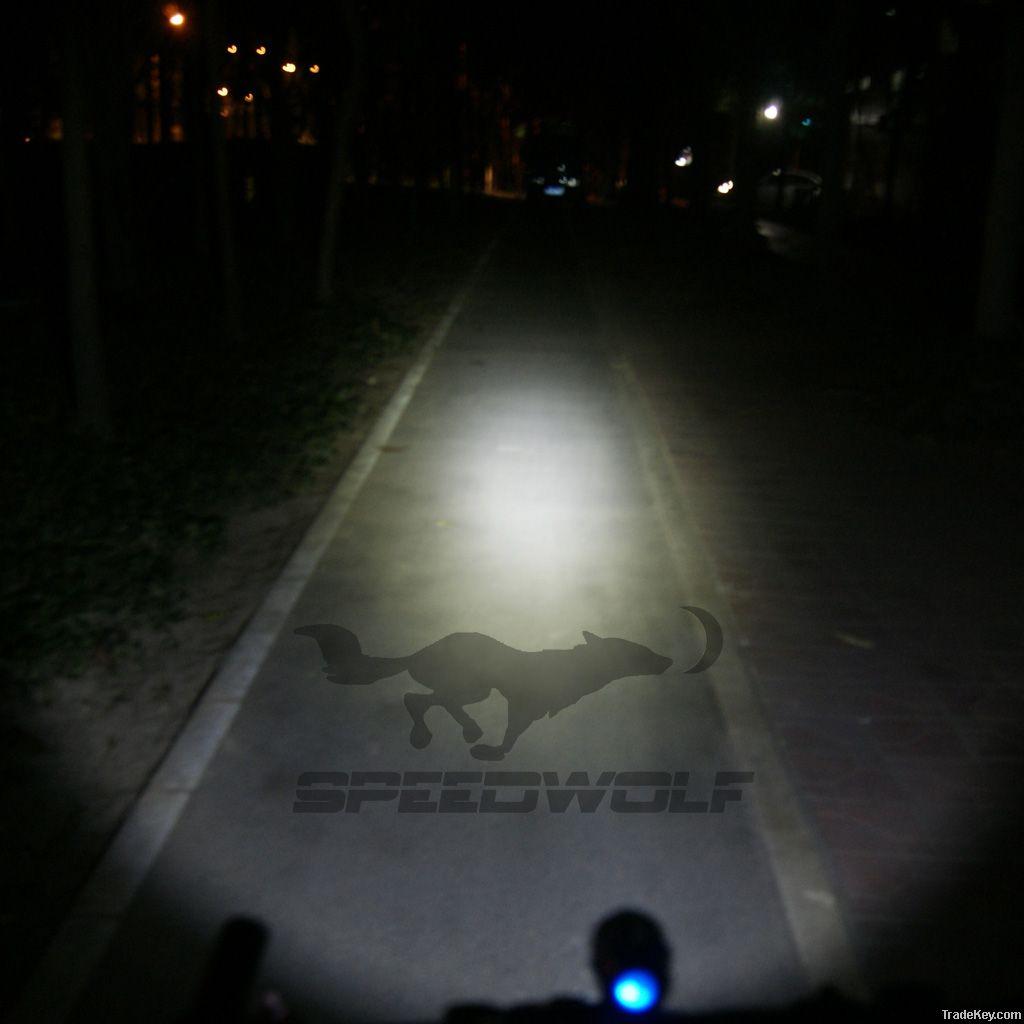 1300lm 5200mah T6 LED bike light+LED Camping Lights