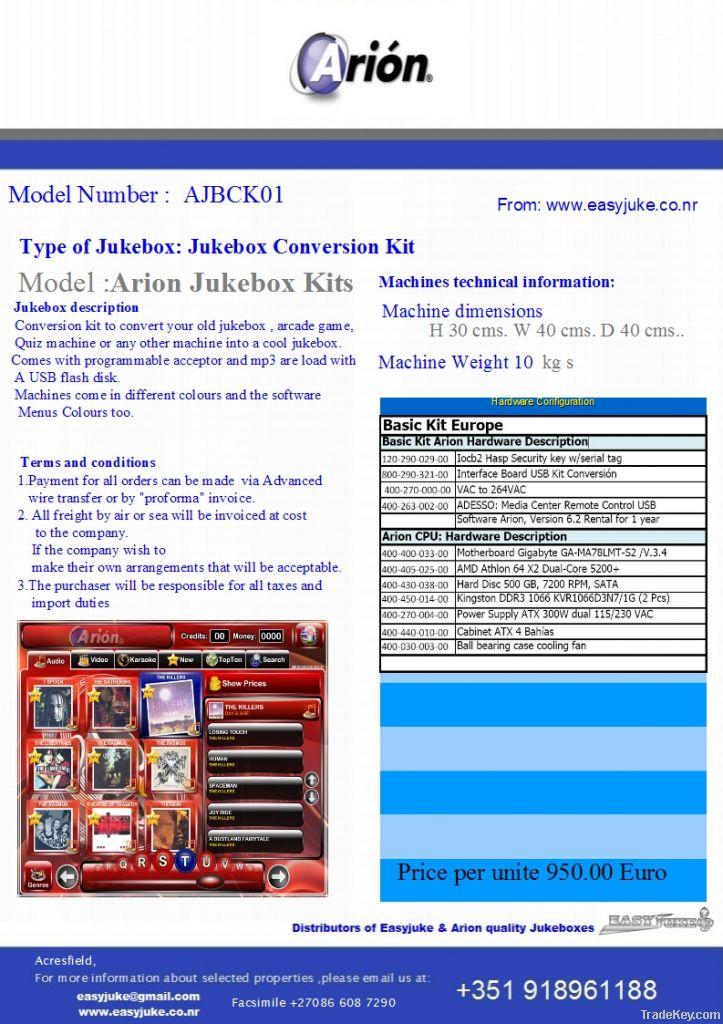 Arion Jukebox Conversion DIY Kits