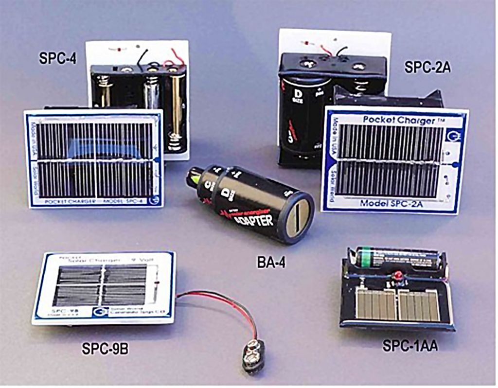 Solar Pocket Battery Charger Series