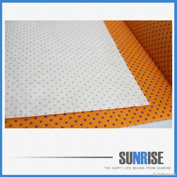 Household needle punching bamboo cleaning cloth