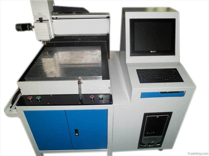 mobile screen glass cutting machine