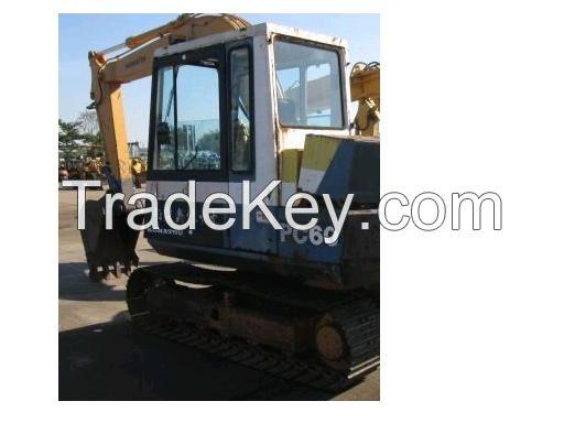 Excavator 6 ton  PC60-5 for sale