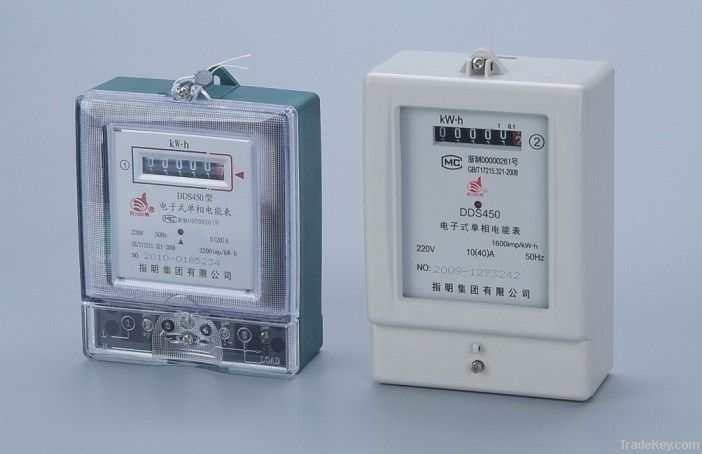 DDS450 Single-Phase Electronic Watt-Hour Meter