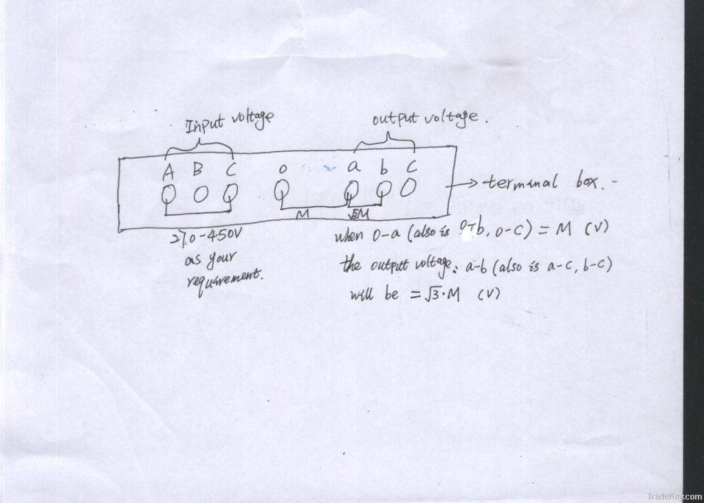 3-Phase Voltage Stabilizer