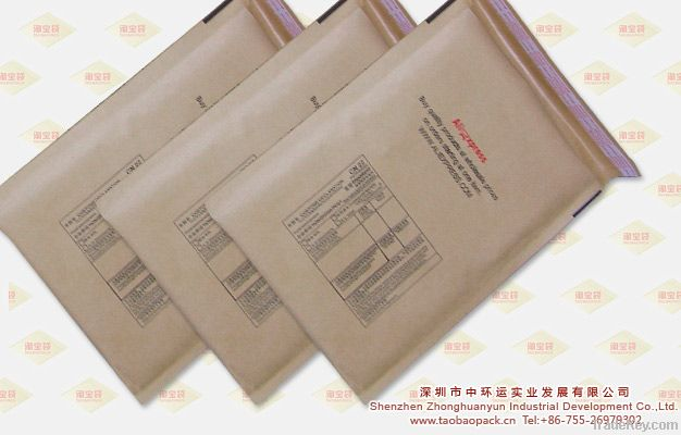 100% Recyclable Self Sealing Natural Kraft Bubble Mailer