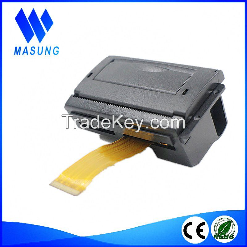 Mini panel embedded thermal 58mm kiosk printer for madical machine