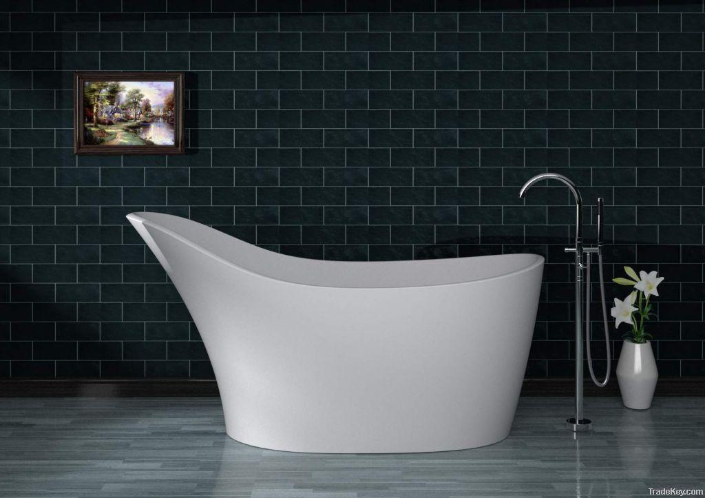 polymarble/solid surface bathtub