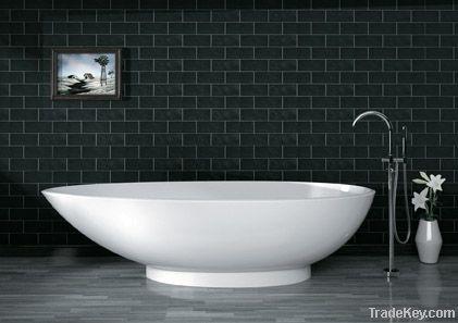 polymarble/ solid surface bathtub