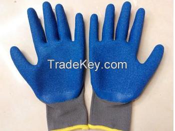 latex dipped working glove