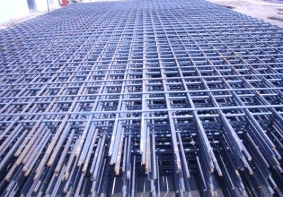 CRB550 Reinforcing mesh,Steel diamond mesh for bridge