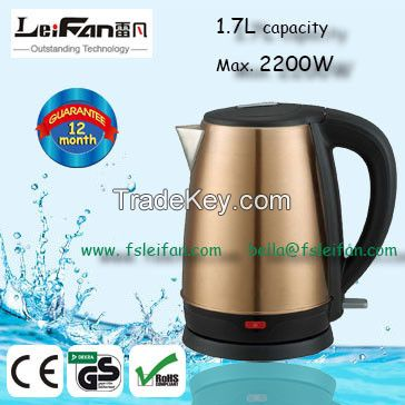healthy drink food grade stainless steel electric kettle