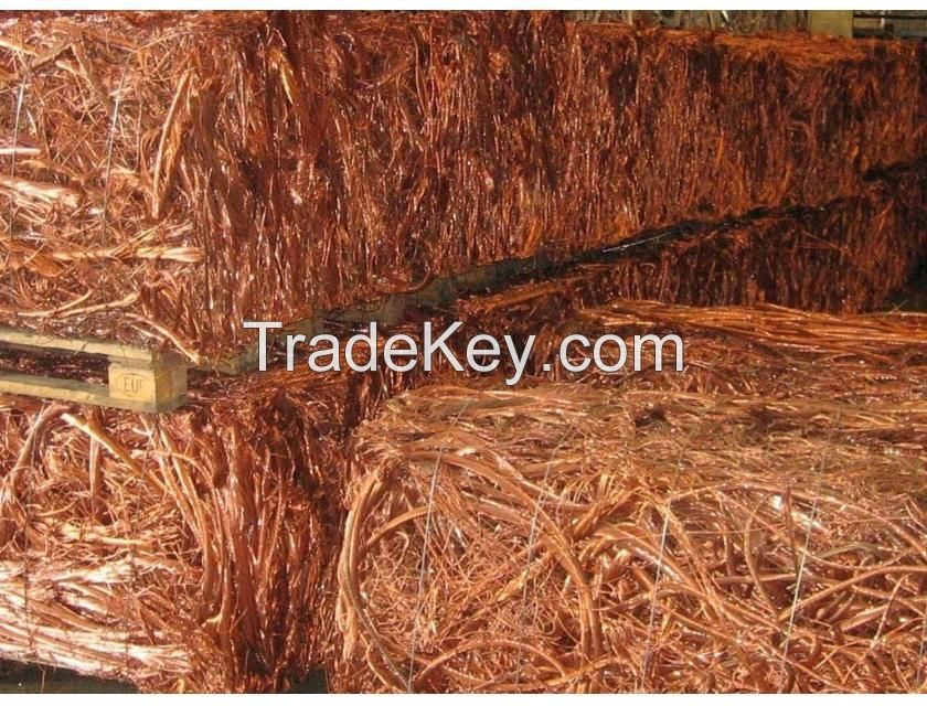 COPPER WIRE SCRAPS/MILLBERRY COPPER FOR SELL