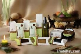 Thai natural spa product, Hand made natural soap