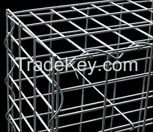 Galvanized Welded Gabion Boxes For Retaining Wall