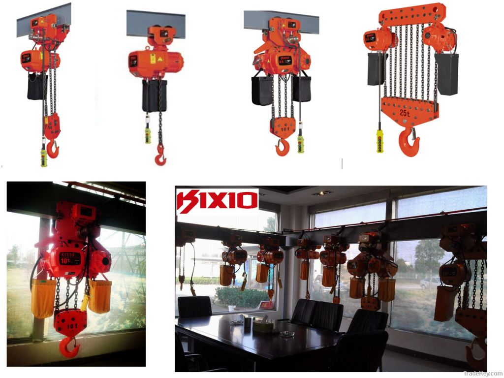 KIXIO 500kg electric chain hoist