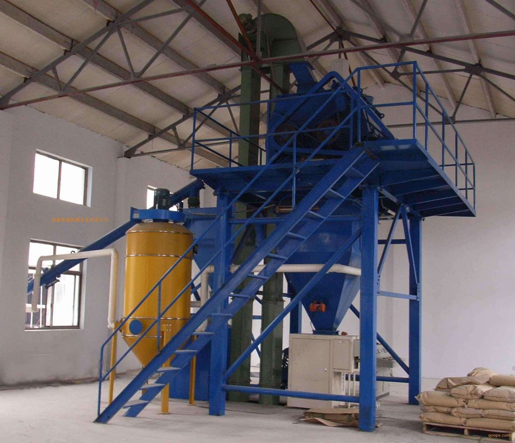 5-60t/h Dry mortar Production Line in tile adhesive machinery with new design