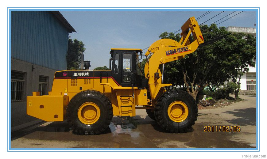 XC958-18t Big Power Forklift Loader for Mining/Quarry Construction