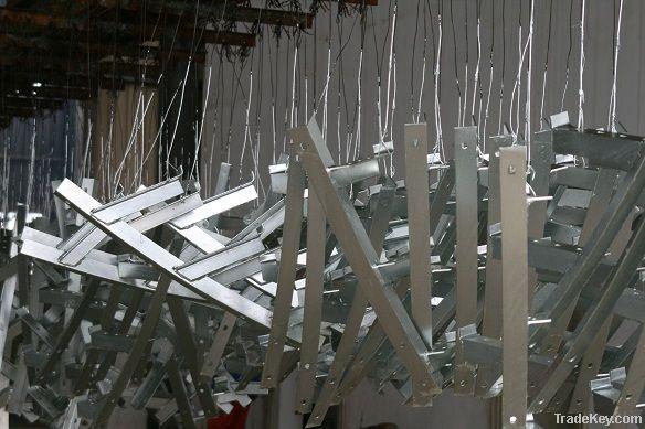 hot dip galvanized structure steel