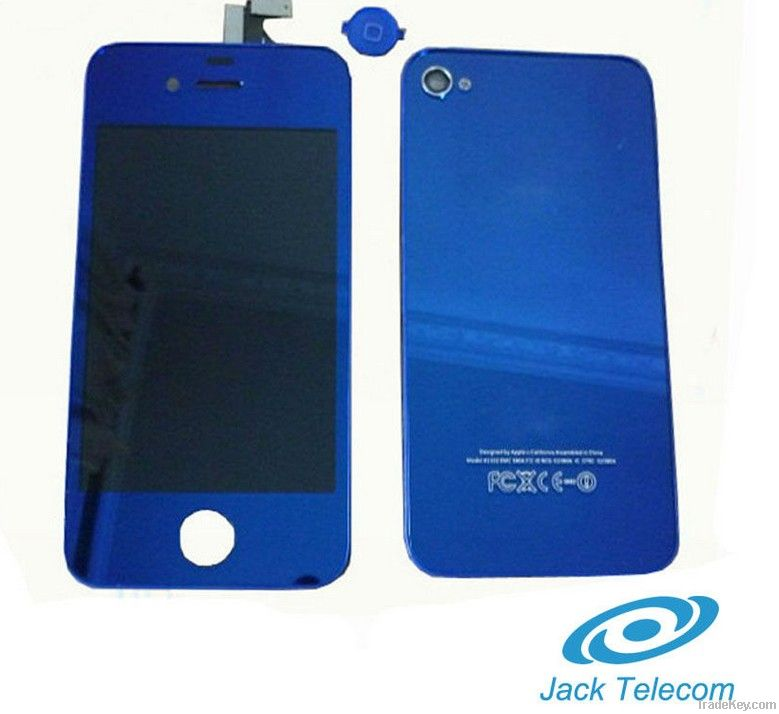 for iphone 4 lcd with touch screen back cover full kits