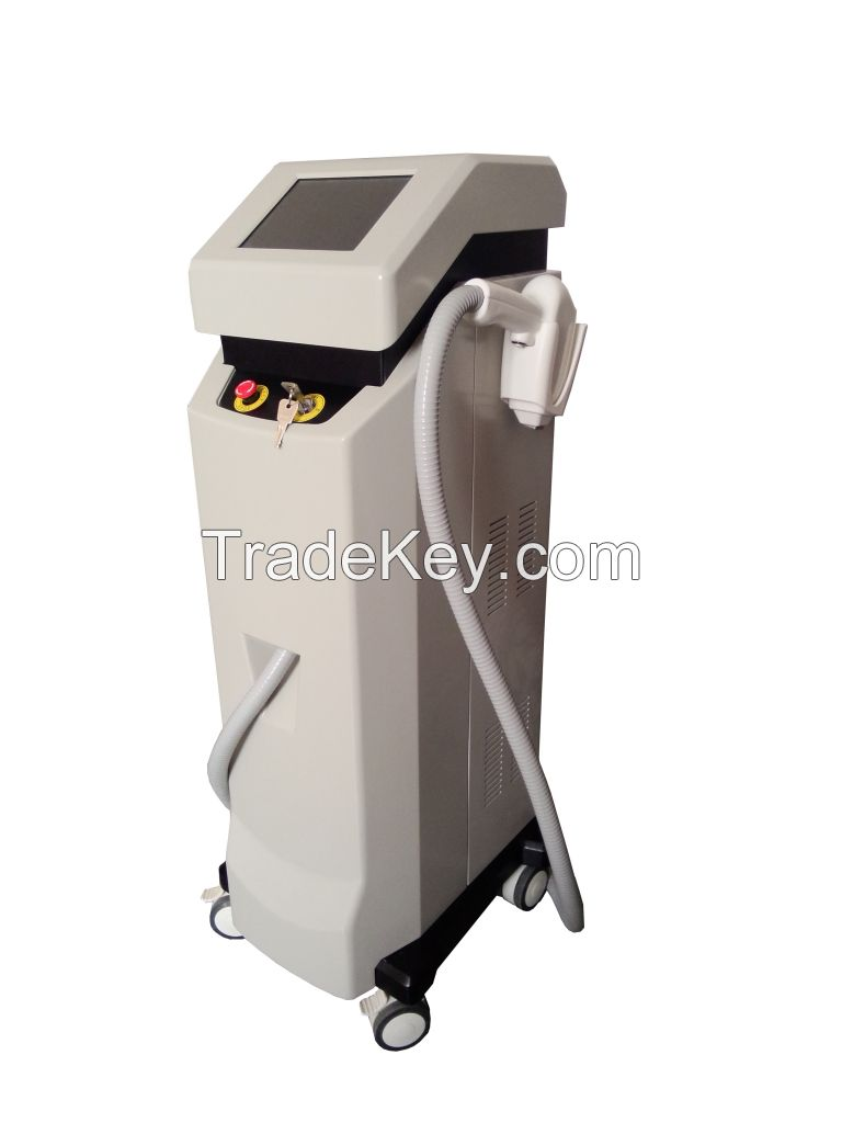 810nm Diode Laser Permanent Fast Hair Removal Equipment with German laser bars