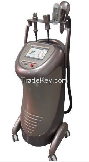 Cryolipolysis Vacuum + RF + laser  for slimming , cellulite reduction