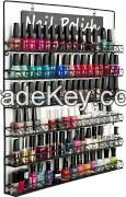 6-Tier Wire Display Rack for Wall Mount Use, Holds Nail Polish, Sign