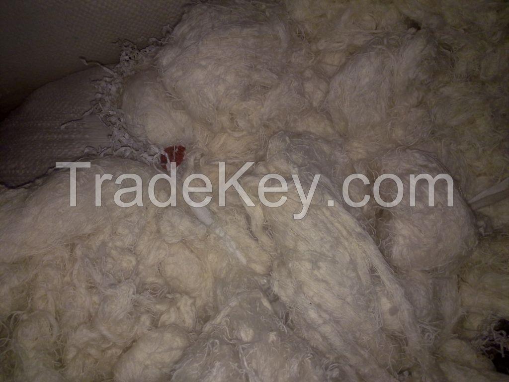 100% Cotton yarn waste (Hard/Sized/Unsized)
