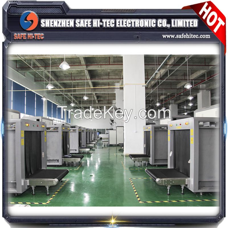 Hot sale x-ray baggage scanner .baggage x-ray machine for security.different sizex-ray baggage machine SA6040