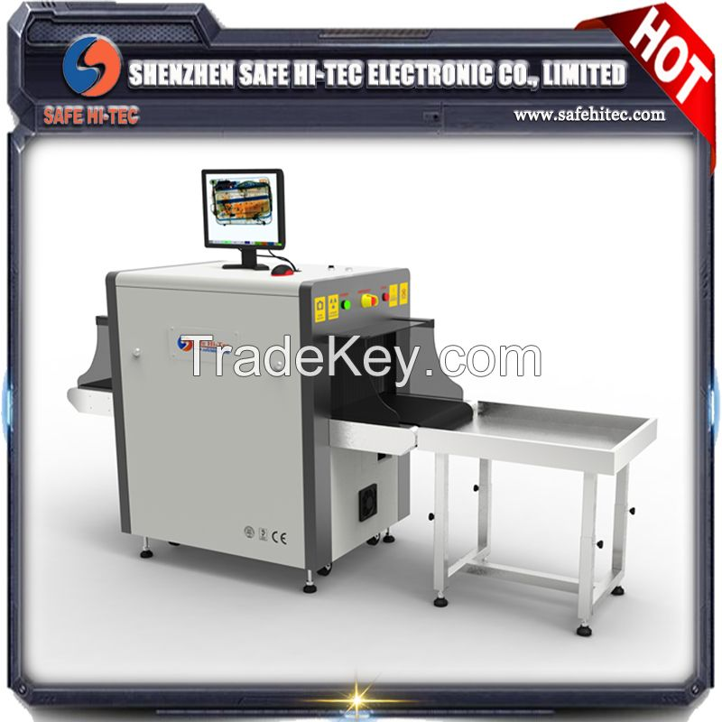 Hand bag x-ray scanner machine, security baggage screening system factory price