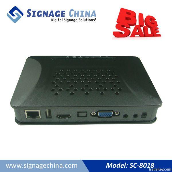 SC-8018 Network Digital Signage Media Pl