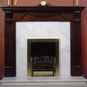 all kinds of fireplace, backs  and hearths
