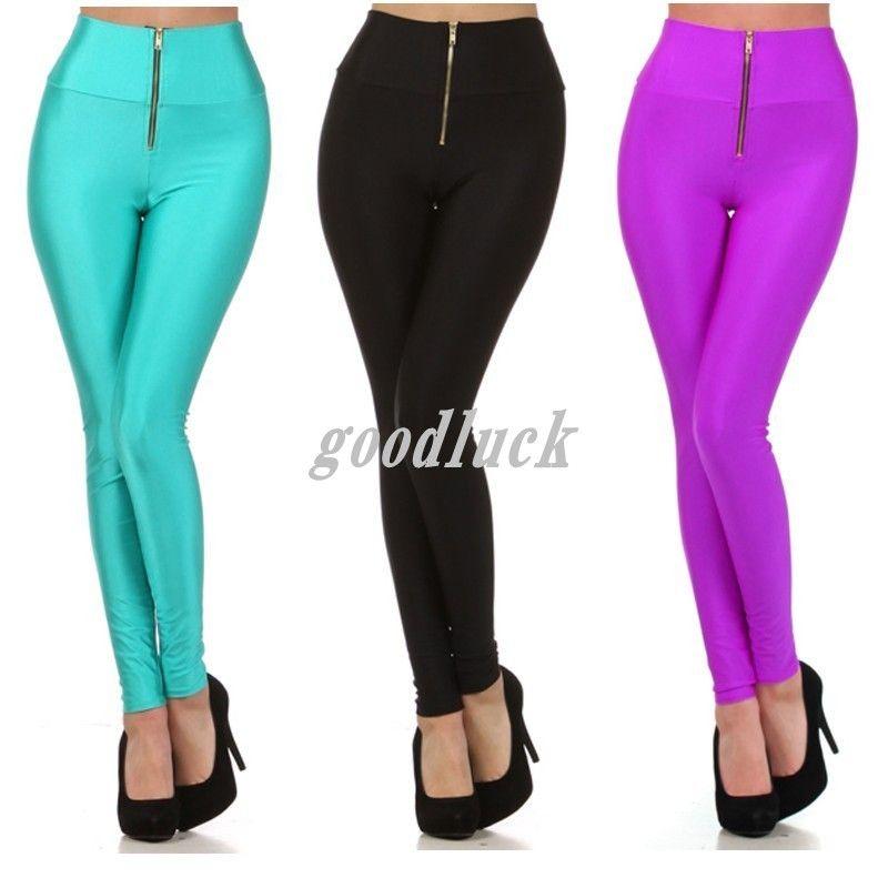 Sexy Pants Shiny Club Wear Leggings