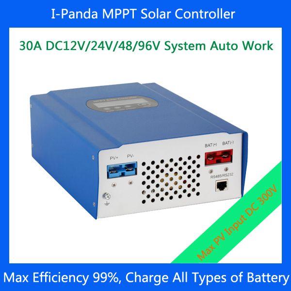 30A 96V MPPT solar charger controller for solar system