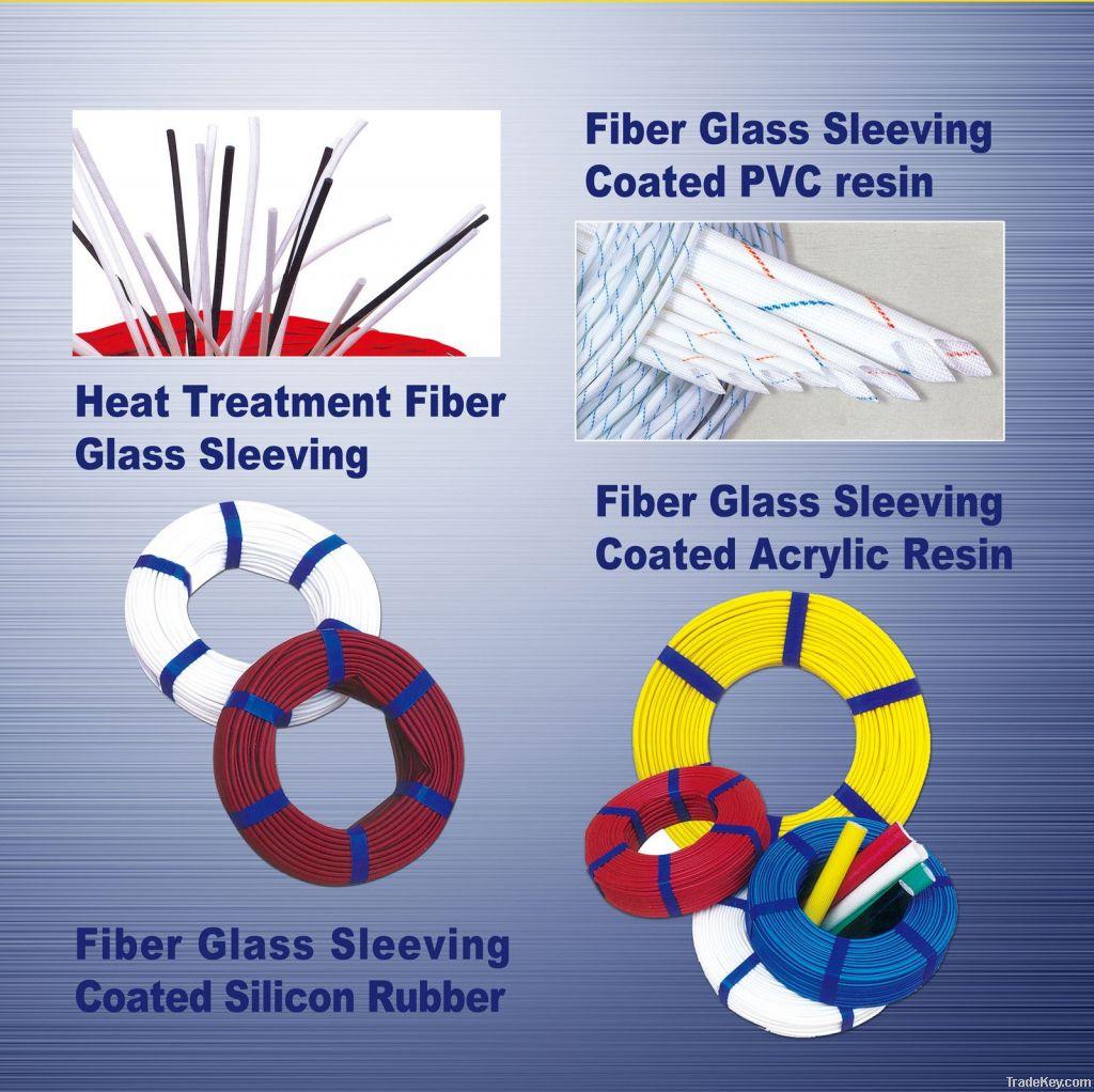 pvc E-glass sleevings