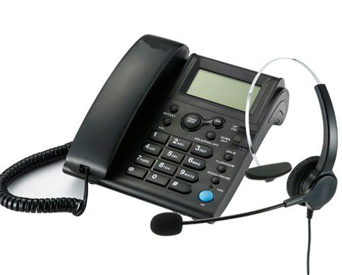 caller ID telephone for call center using
