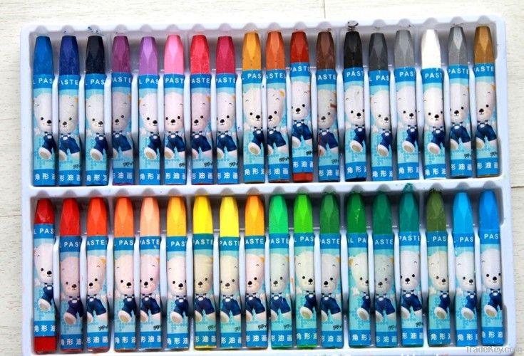 Oil pastel, cartoon crayon