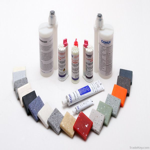 Acrylic Solid Surface Adhesive AB Glue With Low Odor