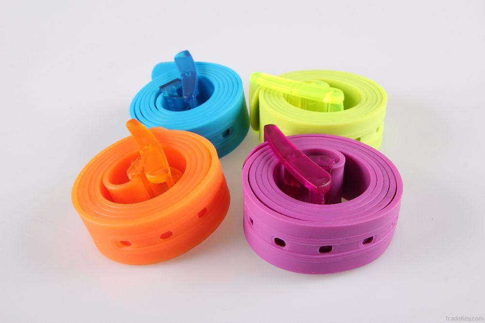 silicone belt, waist belt, tpe belt